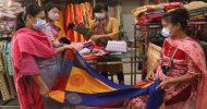 স্বাস্থ্যবিধি মেনে দ্বিতীয় দিনেও খুলেছে শপিংমল-দোকানপাট