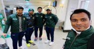 ৩ ট্রফি নিয়ে দেশে ফিরল বাংলাদেশ ক্রিকেট দল